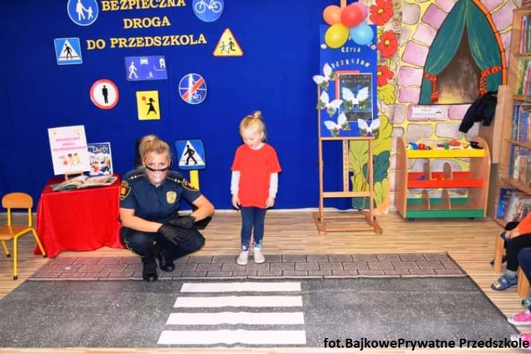 Zajęcia Bezpieczna droga do szkoły
